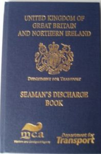 discharge book needed for a SED claim